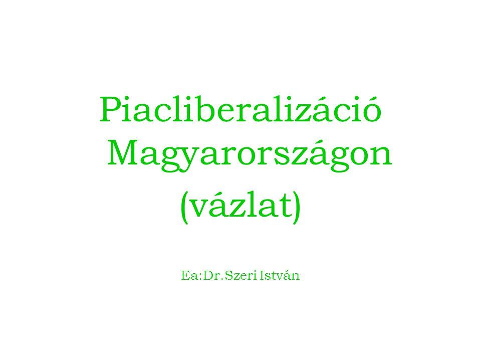 Piacliberalizáció Magyarországon