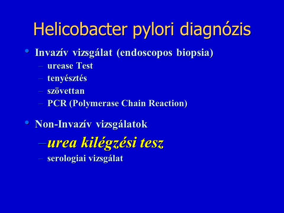 Helicobacter pylori diagnózis