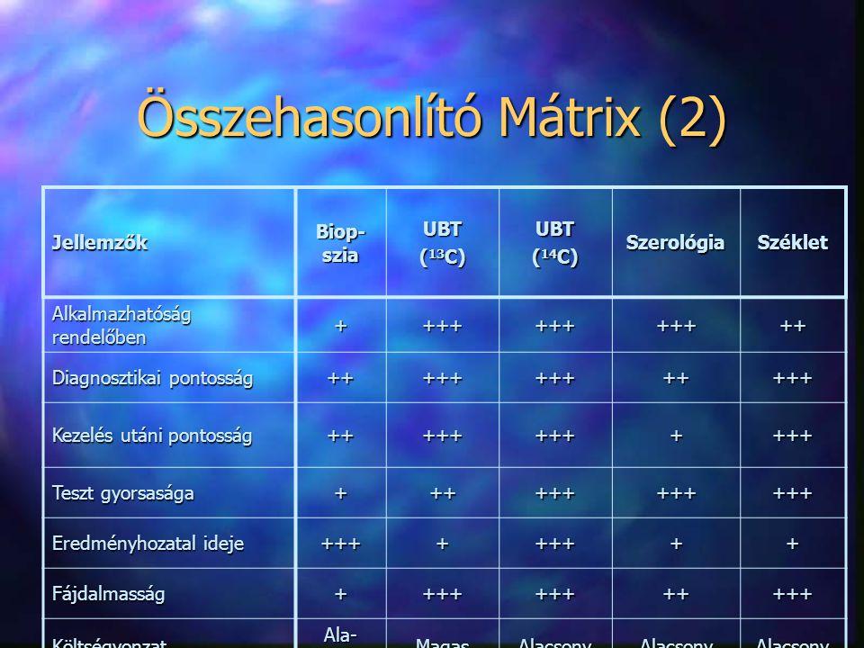 Összehasonlító Mátrix (2)