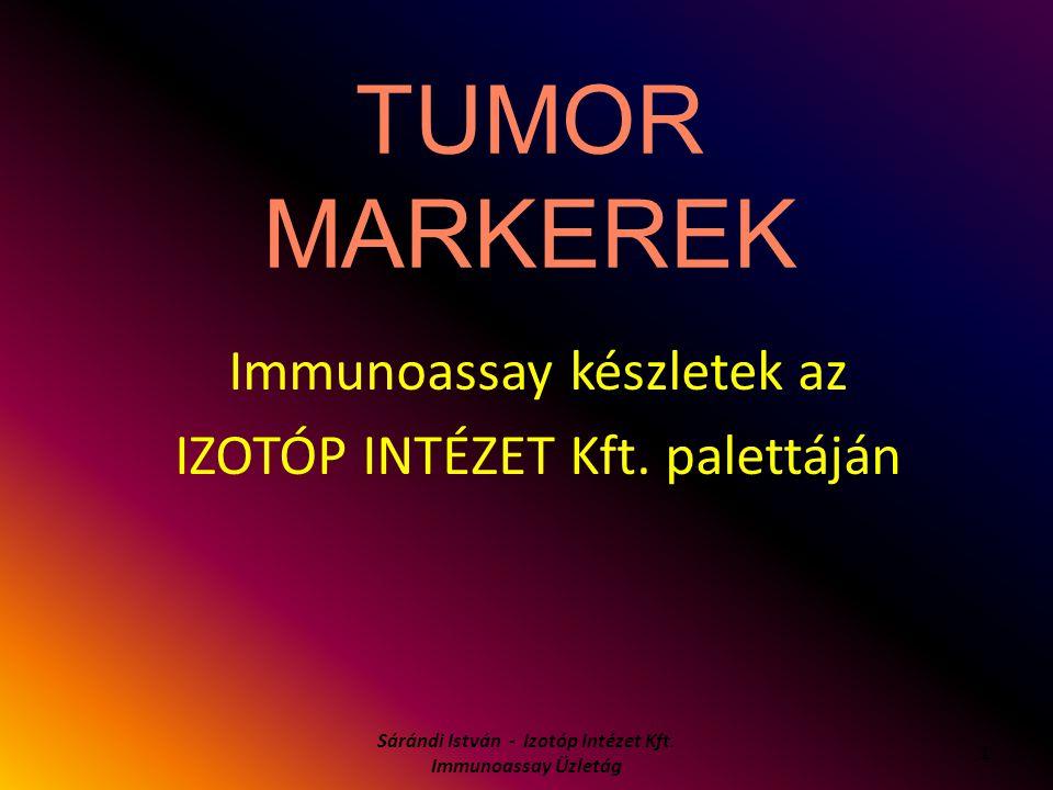 Immunoassay készletek az IZOTÓP INTÉZET Kft. palettáján
