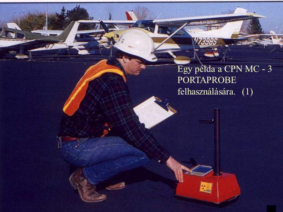 Egy példa a CPN MC - 3 PORTAPROBE felhasználására. (1)