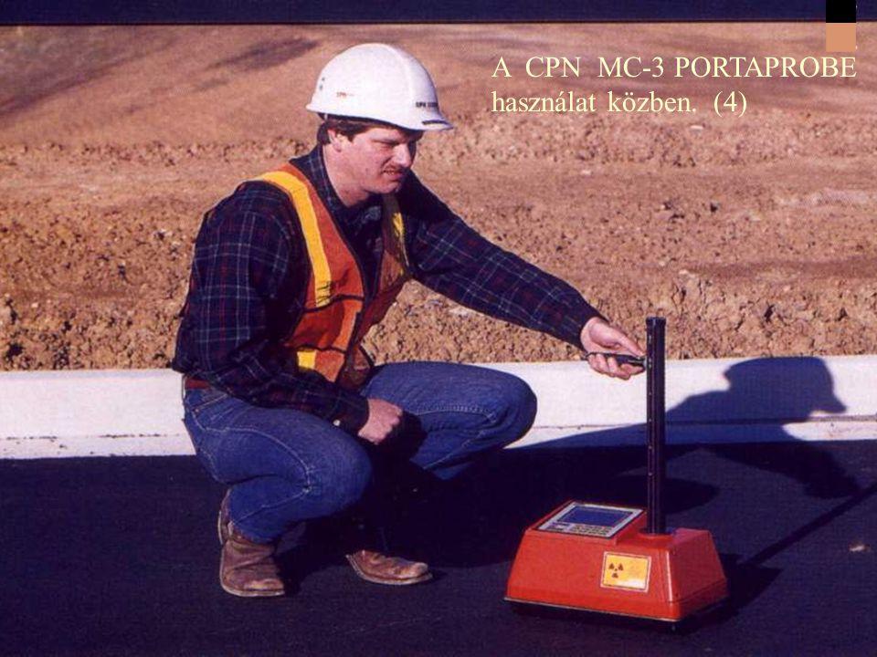A CPN MC-3 PORTAPROBE használat közben. (4)
