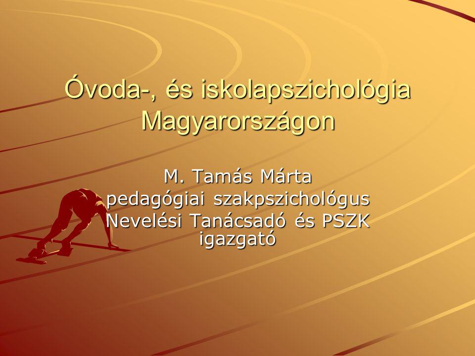 Óvoda-, és iskolapszichológia Magyarországon