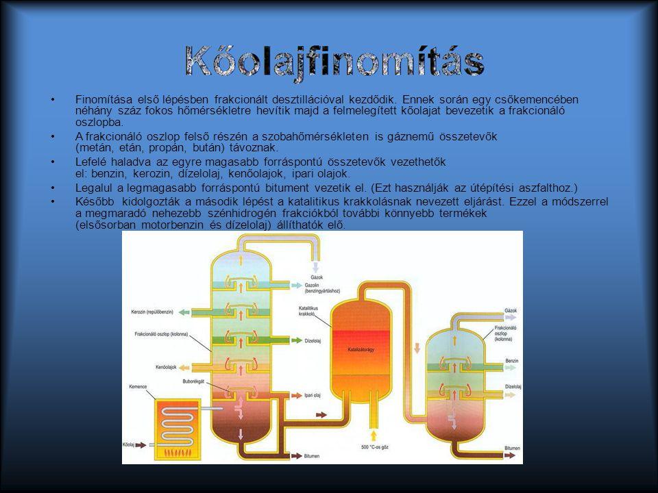Kőolajfinomítás