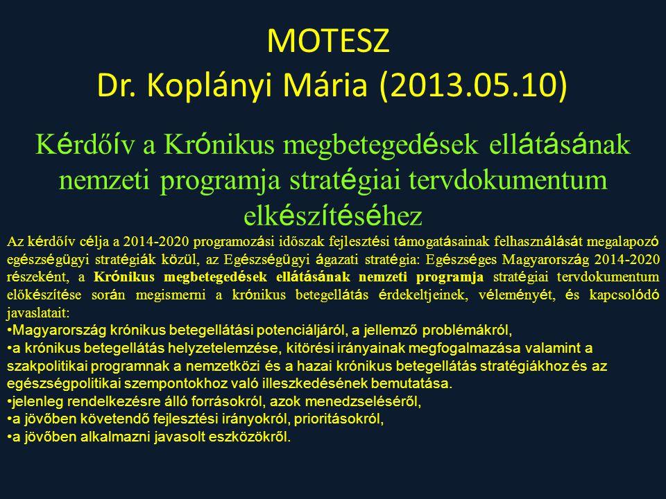 MOTESZ Dr. Koplányi Mária (2013.05.10)