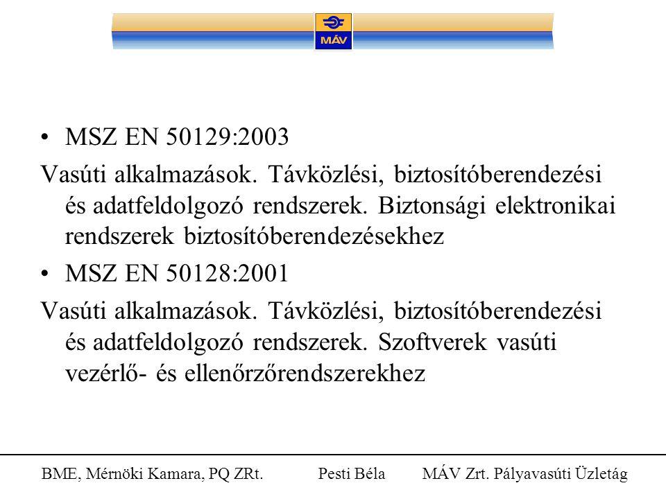 MSZ EN 50129:2003