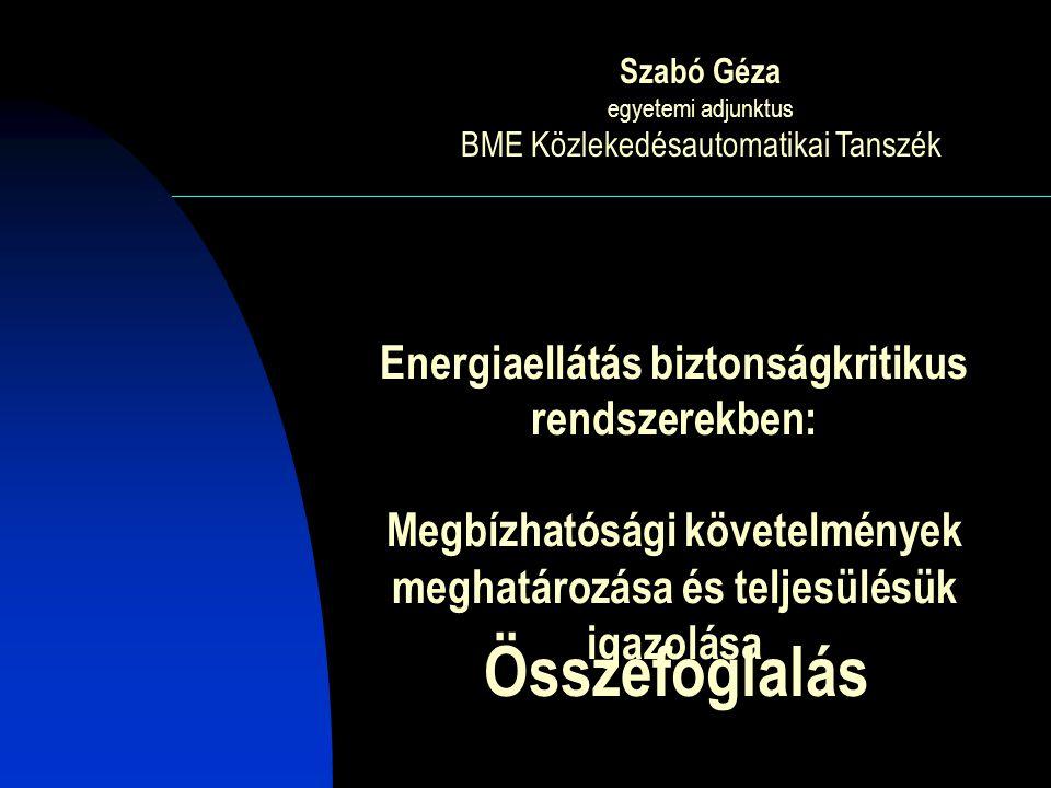 BME Közlekedésautomatikai Tanszék