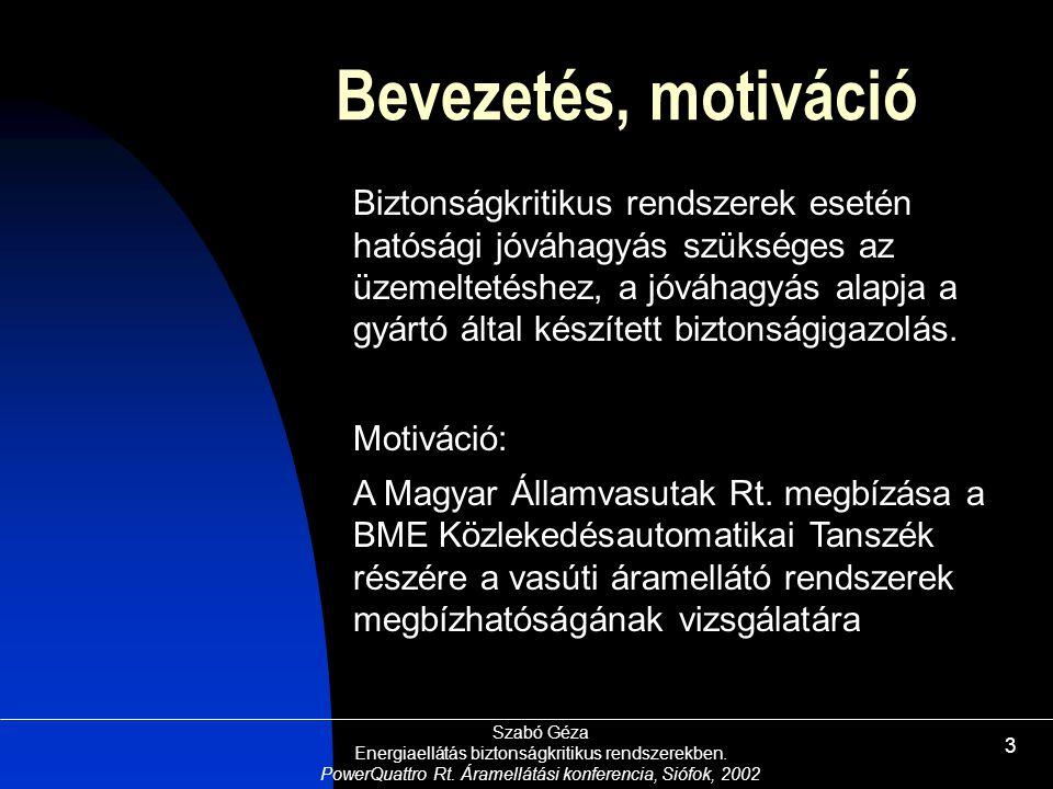 Bevezetés, motiváció