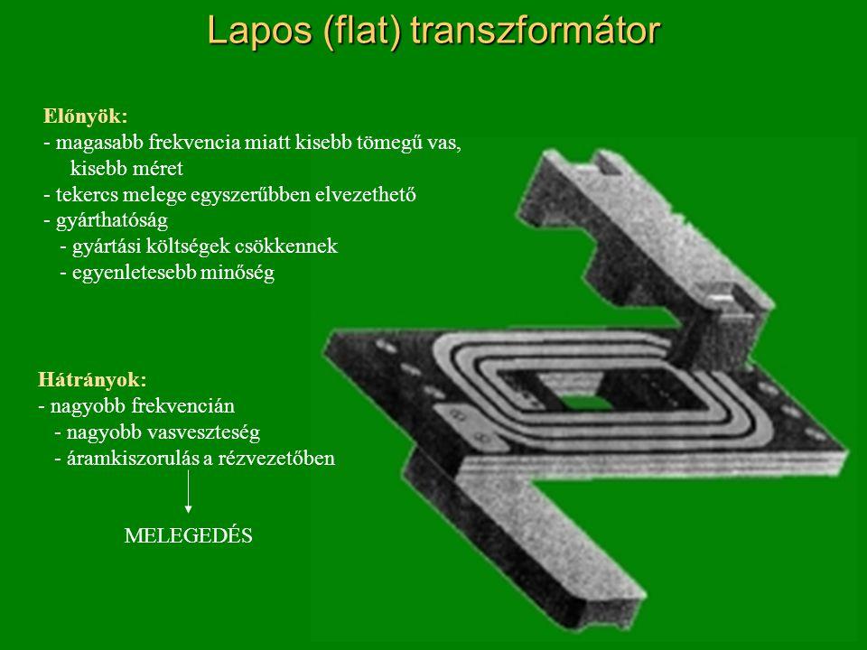 Lapos (flat) transzformátor