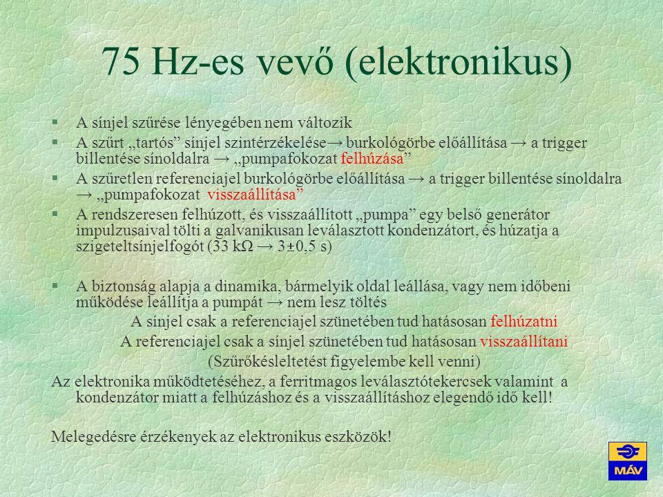 75 Hz-es vevő (elektronikus)
