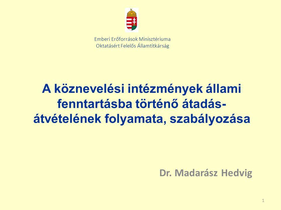 Emberi Erőforrások Minisztériuma Oktatásért Felelős Államtitkárság
