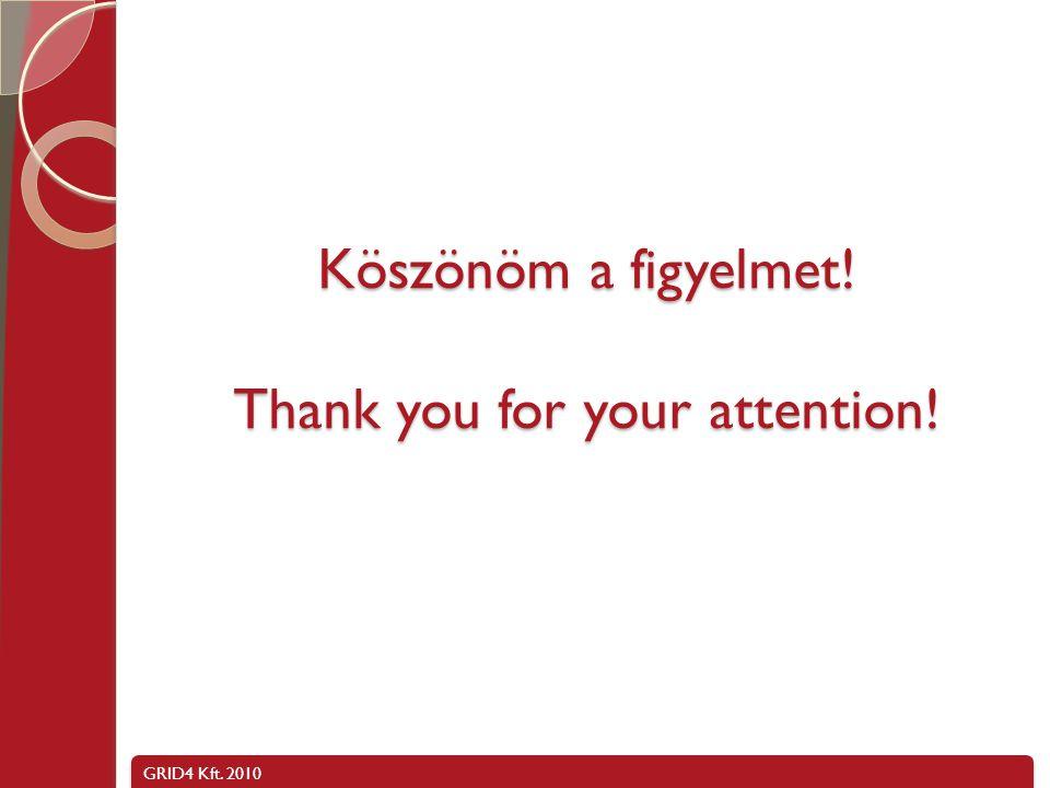 Köszönöm a figyelmet! Thank you for your attention!
