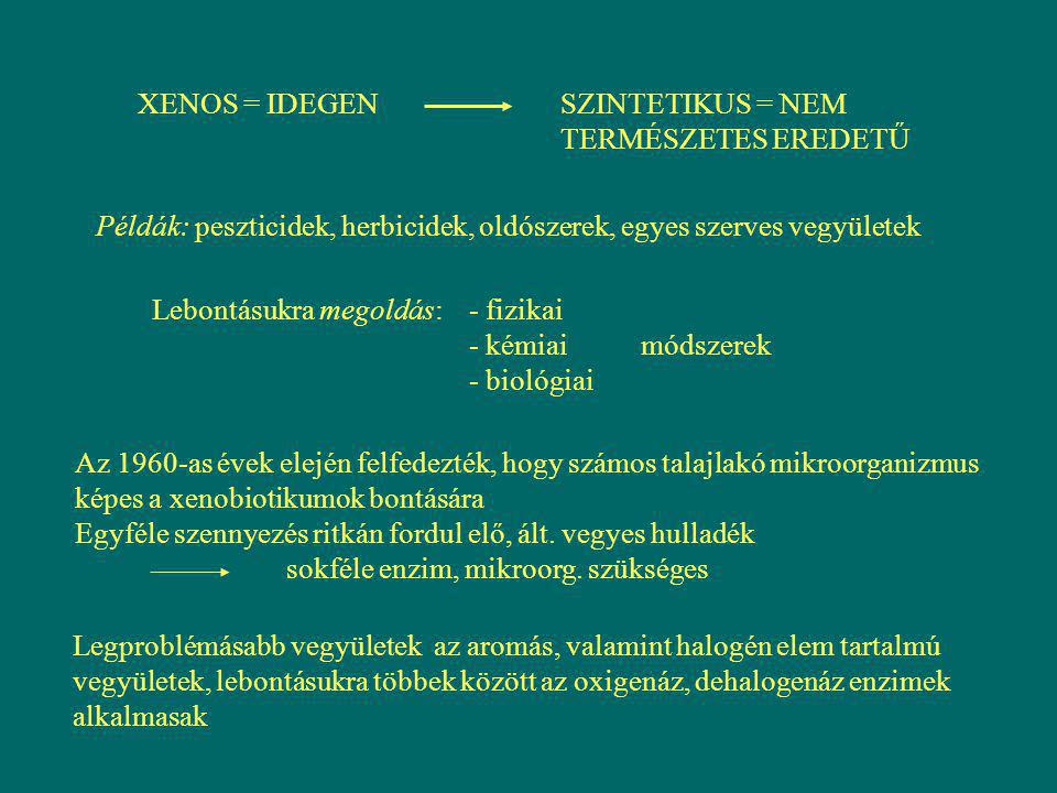 XENOS = IDEGEN SZINTETIKUS = NEM TERMÉSZETES EREDETŰ