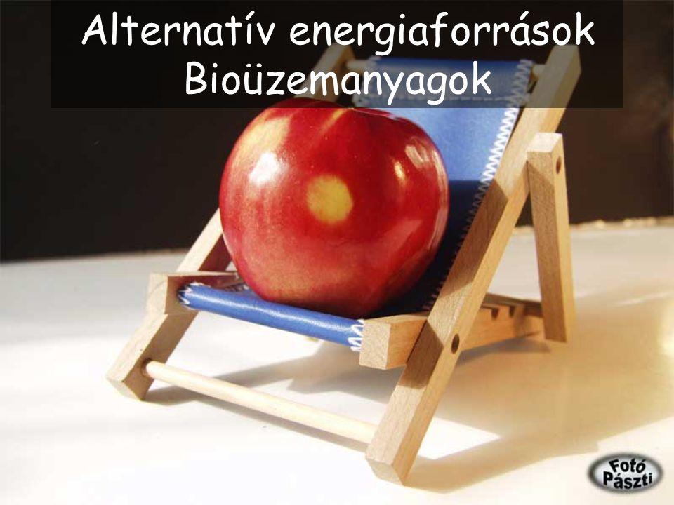 Alternatív energiaforrások Bioüzemanyagok