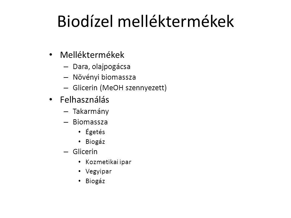 Biodízel melléktermékek