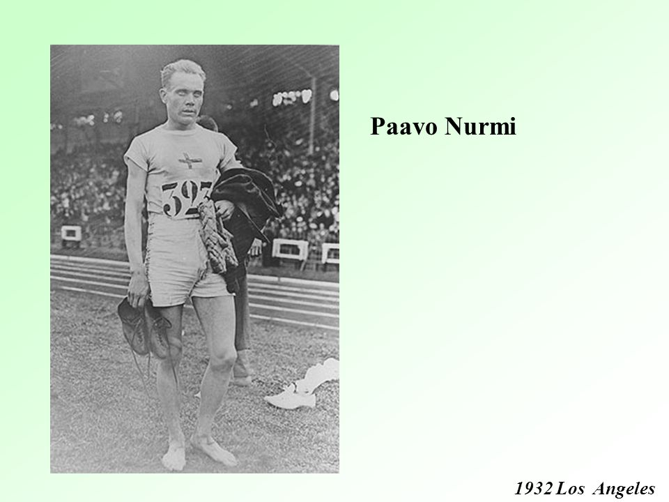 Paavo Nurmi 1932 Los Angeles