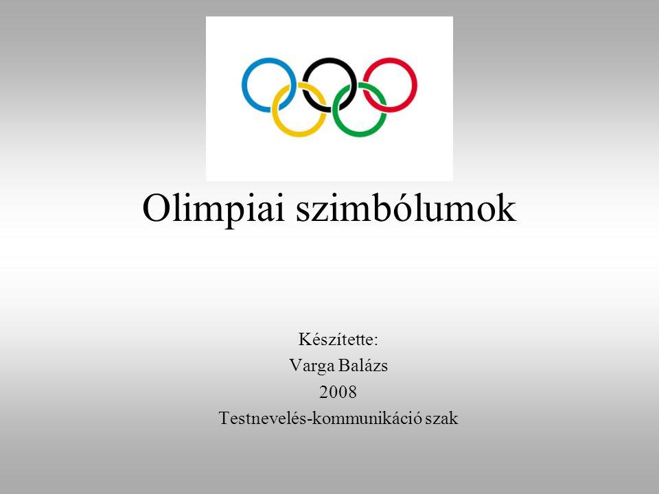 Készítette: Varga Balázs 2008 Testnevelés-kommunikáció szak