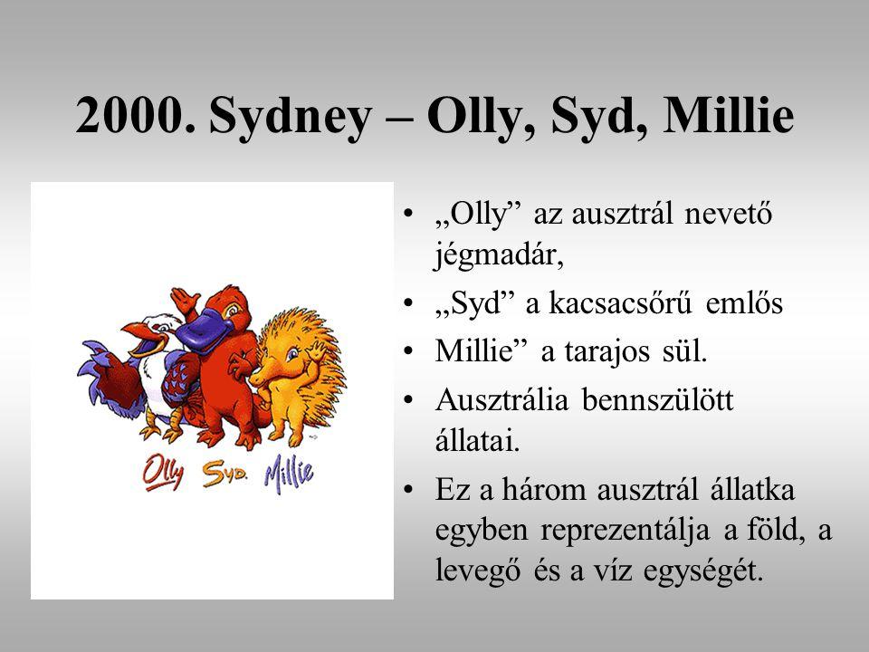 2000. Sydney – Olly, Syd, Millie