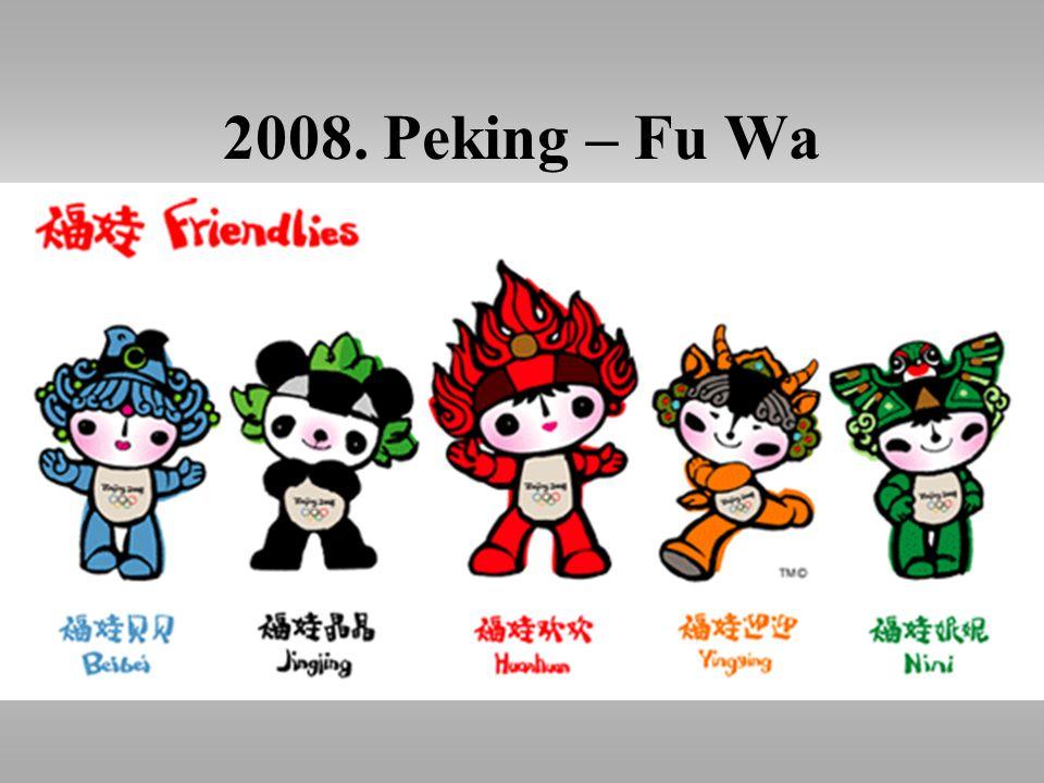 2008. Peking – Fu Wa