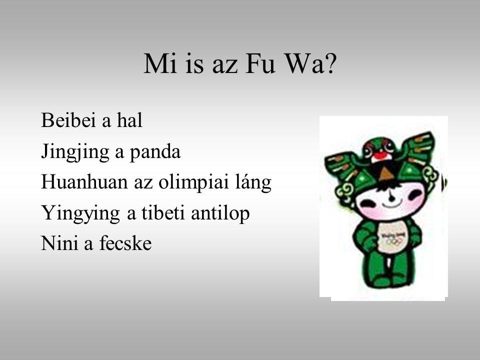 Mi is az Fu Wa Beibei a hal Jingjing a panda