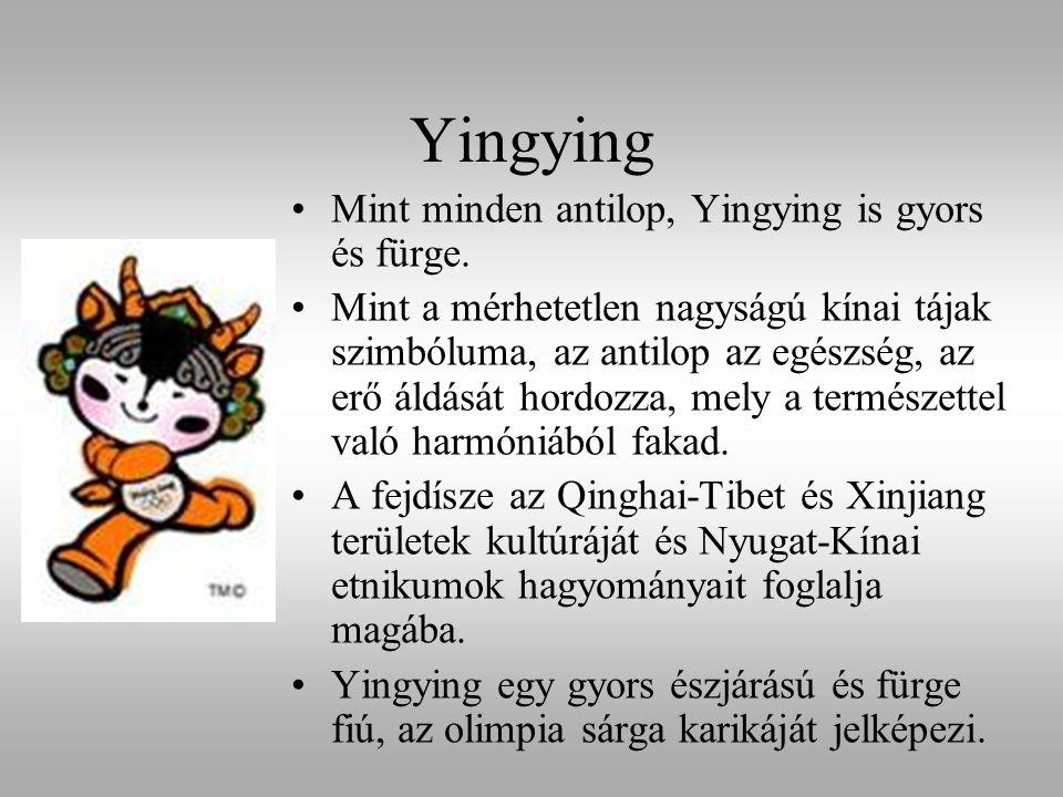 Yingying Mint minden antilop, Yingying is gyors és fürge.