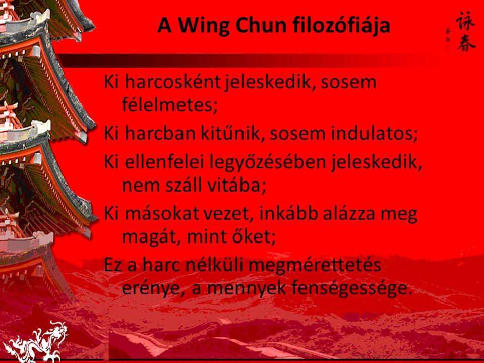 A Wing Chun filozófiája