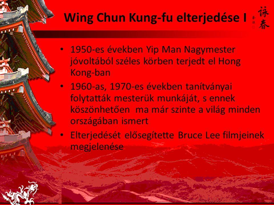 Wing Chun Kung-fu elterjedése I