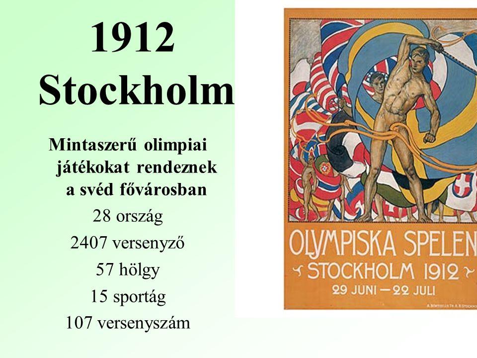 Mintaszerű olimpiai játékokat rendeznek a svéd fővárosban
