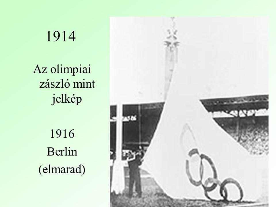 Az olimpiai zászló mint jelkép