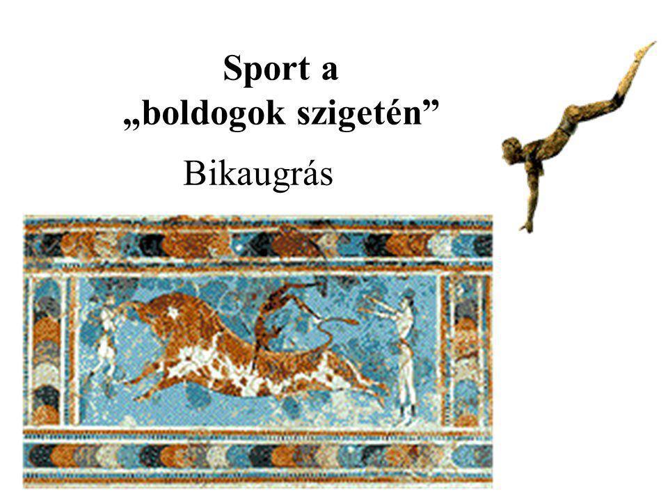 """Sport a """"boldogok szigetén"""