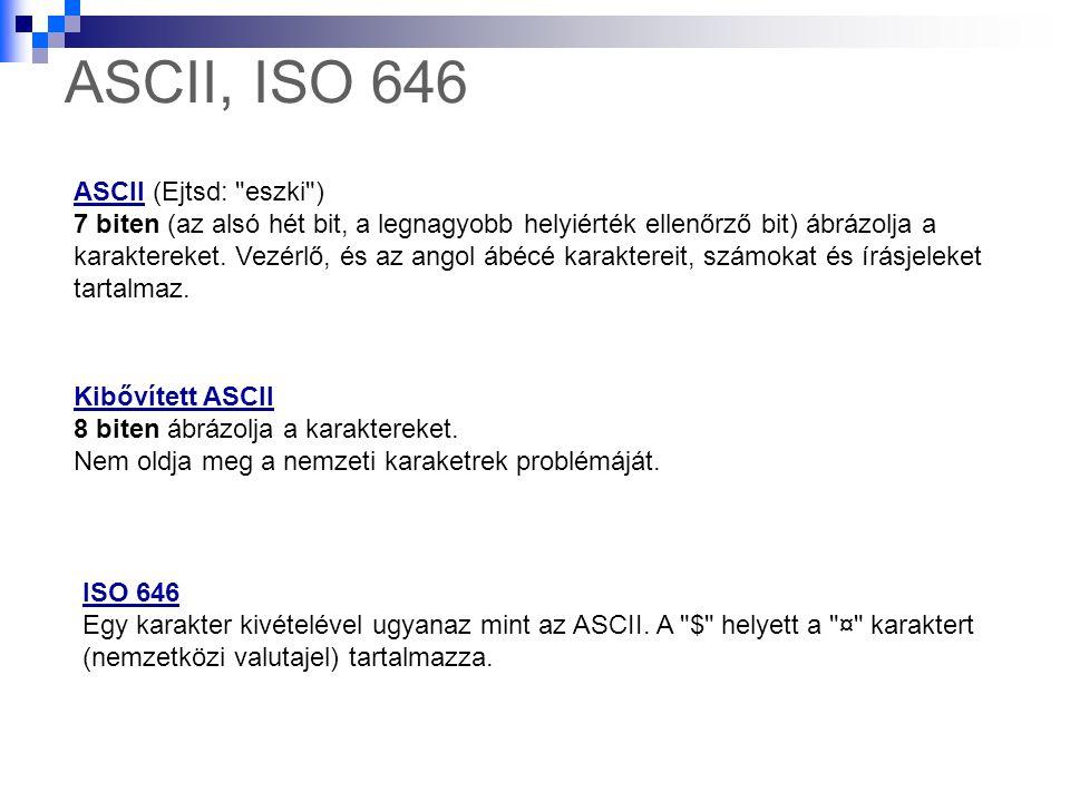 ASCII, ISO 646