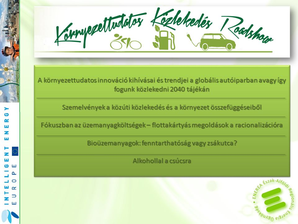Szemelvények a közúti közlekedés és a környezet összefüggéseiből
