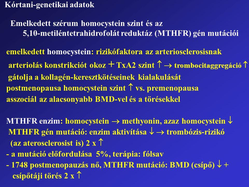 Kórtani-genetikai adatok