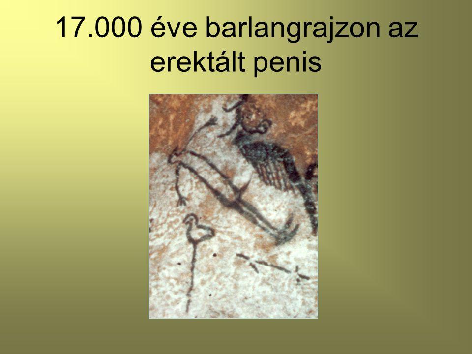 17.000 éve barlangrajzon az erektált penis