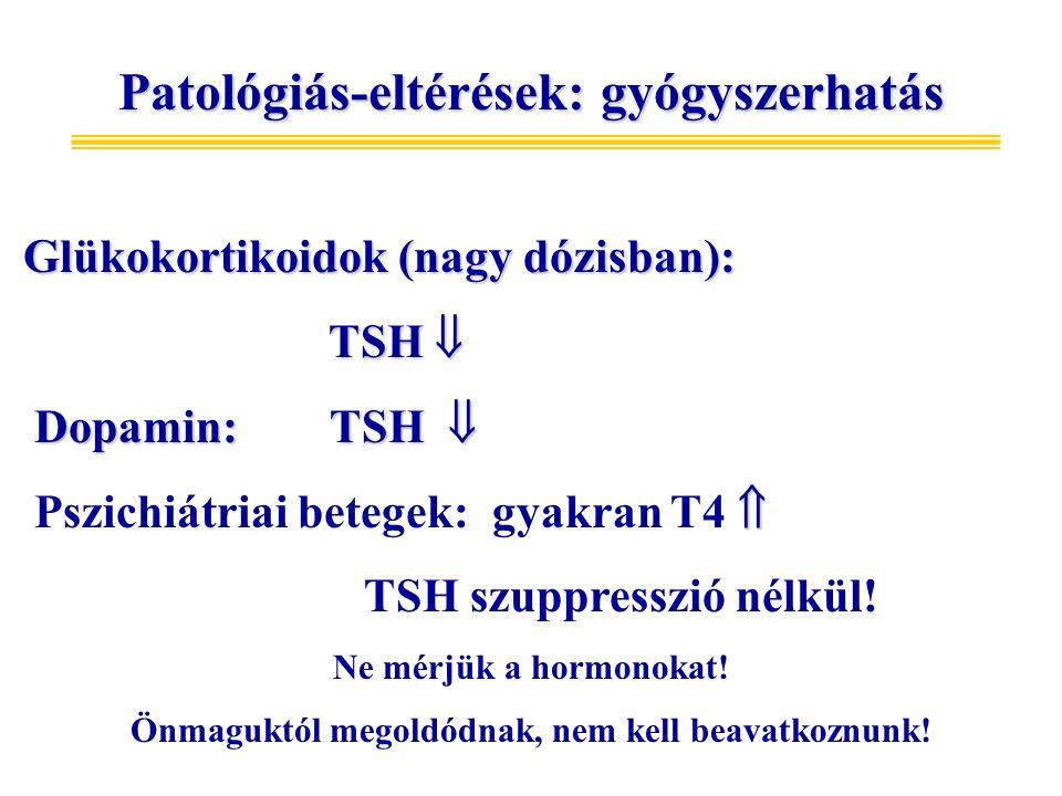Patológiás-eltérések: gyógyszerhatás