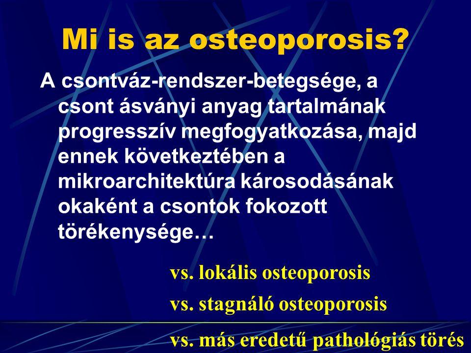 Mi is az osteoporosis