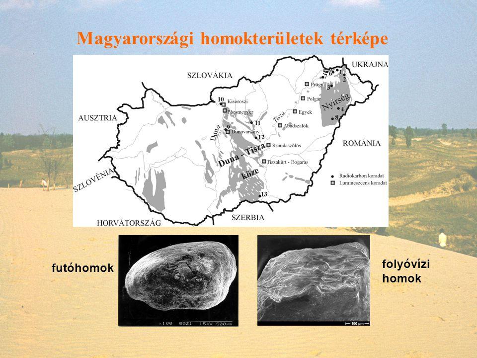 Magyarországi homokterületek térképe