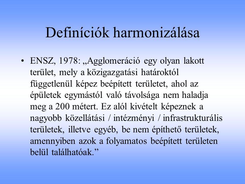 Definíciók harmonizálása