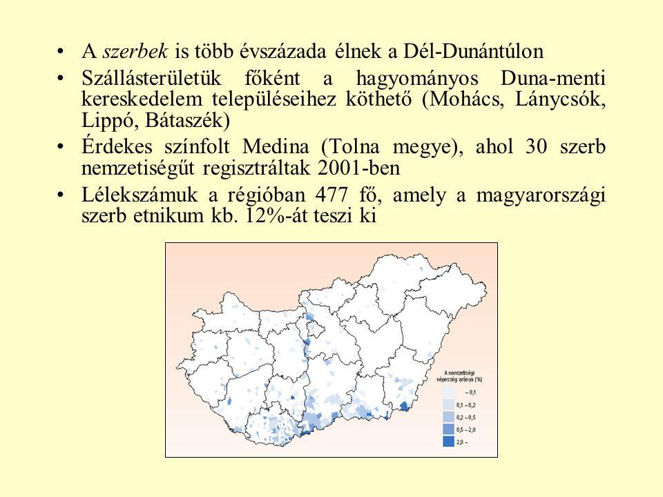 A szerbek is több évszázada élnek a Dél-Dunántúlon