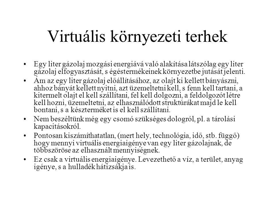 Virtuális környezeti terhek