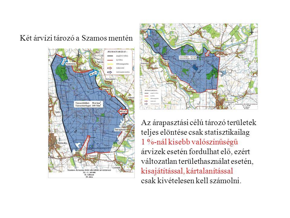 Két árvízi tározó a Szamos mentén