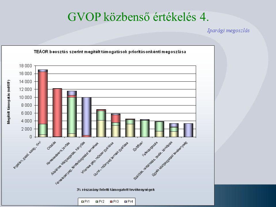 GVOP közbenső értékelés 4.
