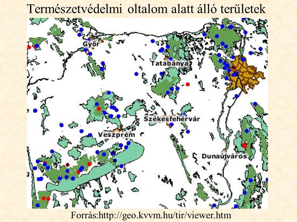 Természetvédelmi oltalom alatt álló területek