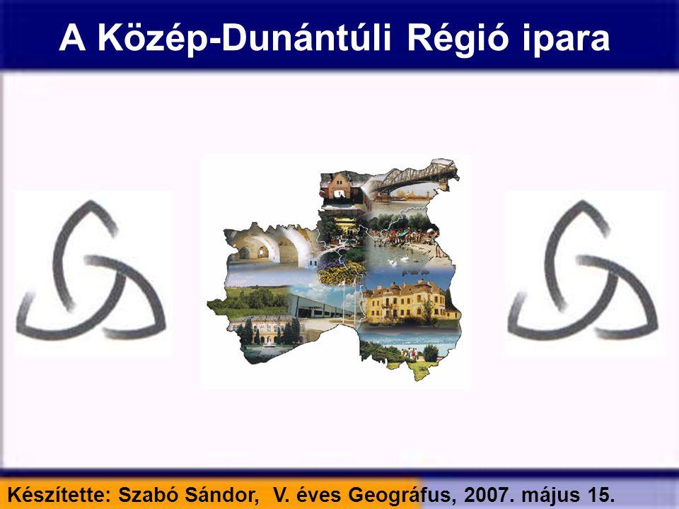 A Közép-Dunántúli Régió ipara