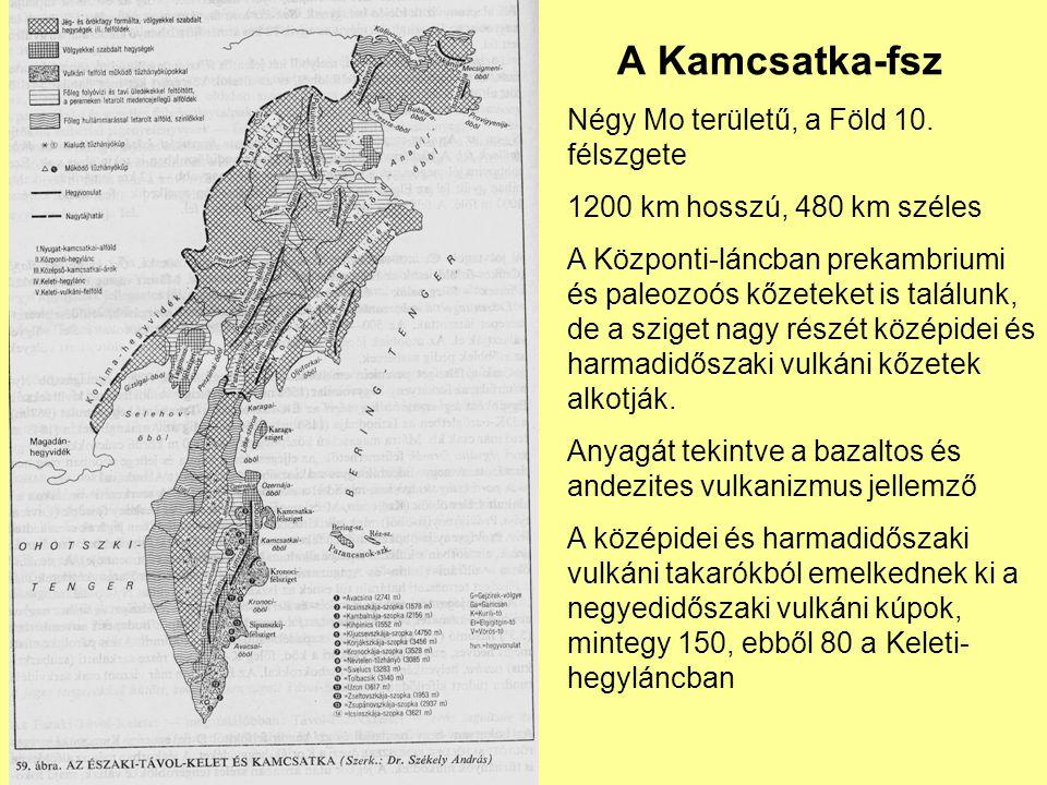 A Kamcsatka-fsz Négy Mo területű, a Föld 10. félszgete