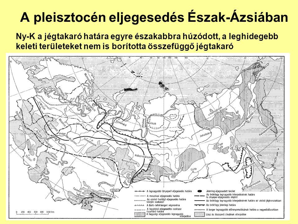 A pleisztocén eljegesedés Észak-Ázsiában