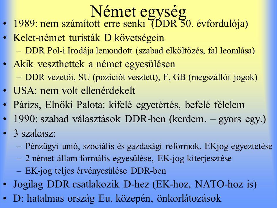 Német egység 1989: nem számított erre senki (DDR 50. évfordulója)