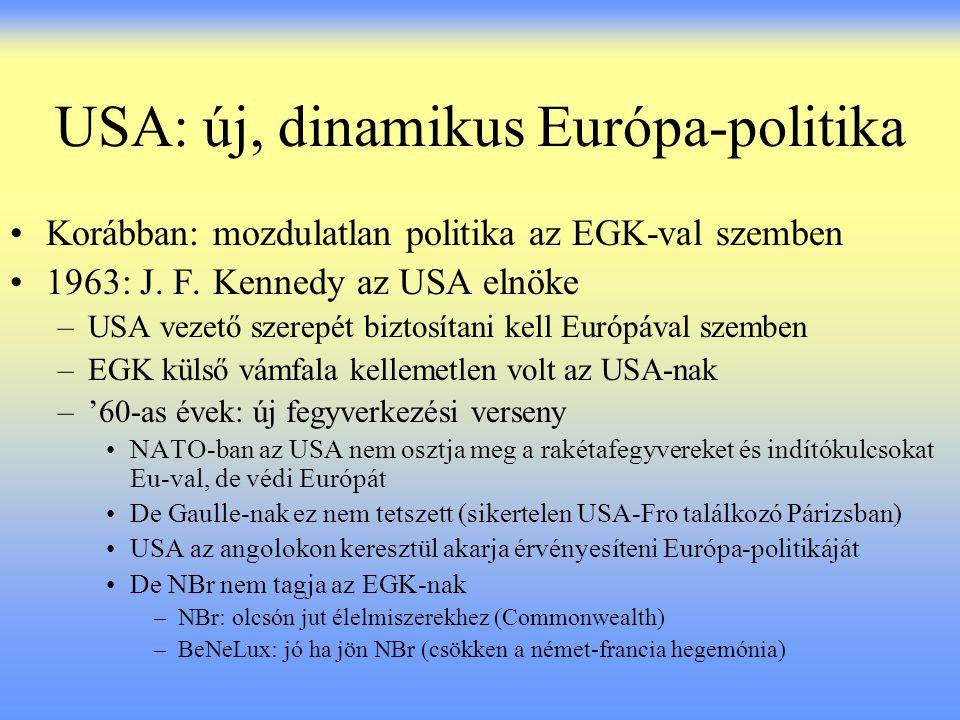 USA: új, dinamikus Európa-politika