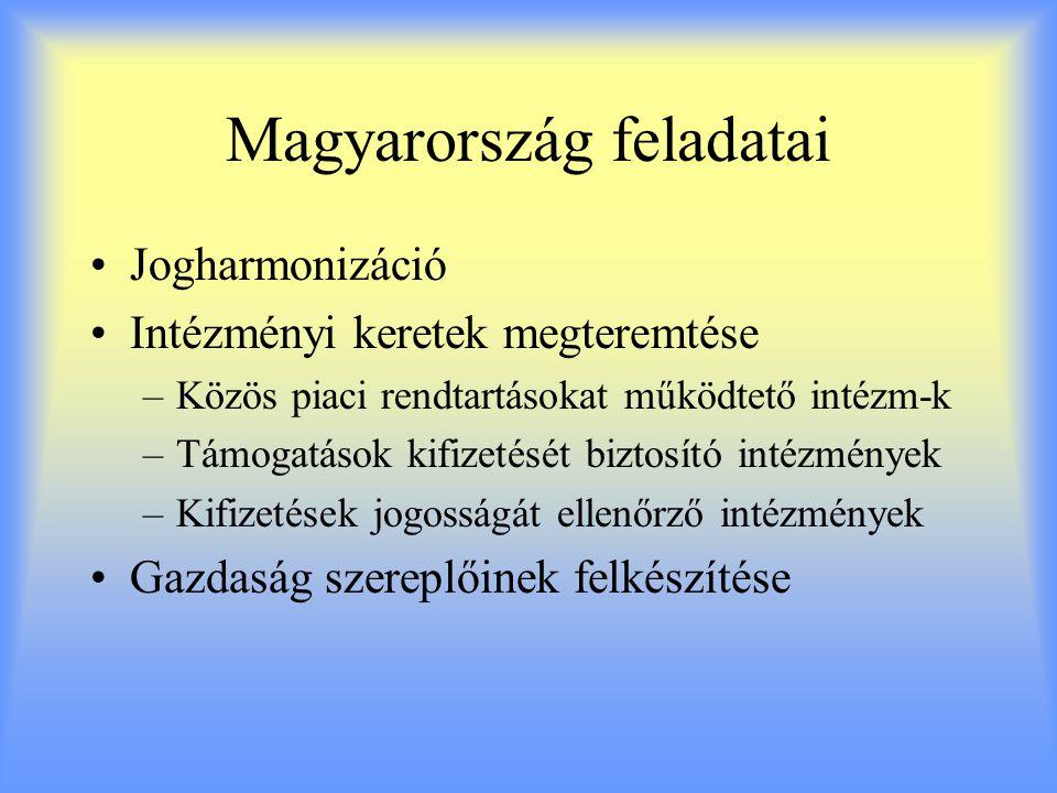 Magyarország feladatai