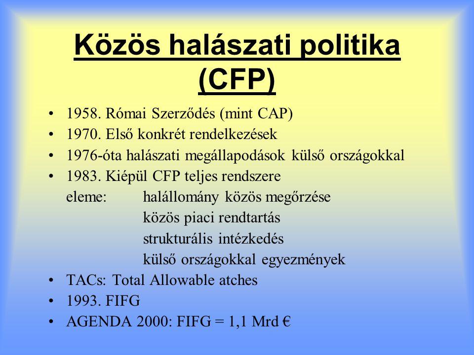 Közös halászati politika (CFP)